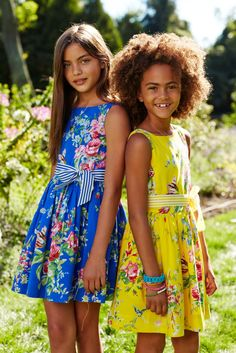Dressed Up For Easter: A fun take on special-occasion style for girls from Ralph Lauren Kids