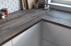Image result for grey wood kitchen worktop