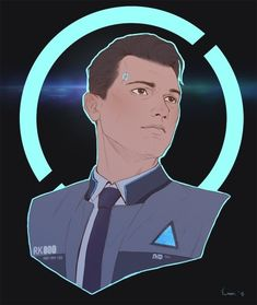 Detroit become human Connor By: @cpt_sunstark