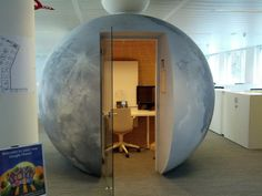 Google offices around the world - phone room/work pod