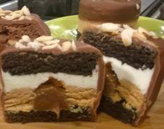 Receta: Cocineros Argentinos /Alfajor helado relleno bañado con chocolate