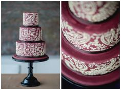 Indische Inspiration #Schnabulerie #StyledShooting #Stencelling #cake #Torte Pillar Candles, Inspiration, Rose, Desserts, Style, Wedding Day, Pies, Decorations, Nice Asses