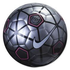 Nike PSG Supporters Ball (Black Grey Pink). Soccer Wearhouse 47523f662