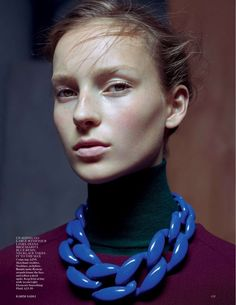 cool Julia Bergshoeff por Karim Sadli para Vogue UK Janeiro 2015  [Editorial]