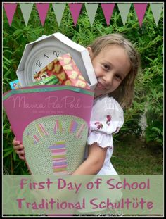 A very special First Day of School tradition! What a wonderful way to get First Grade off to a sweet start!