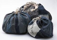Carry History :: Antique Japanese Bags SriThreads Komebukuro 1