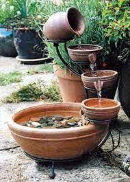 Terracotta water feature