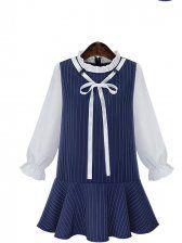 http://www.fashion71.net/korean-style-cape-collar-grid-matching-dress-p99386.html