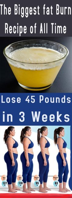 Lose 45 Pounds in 3 Weeks health fitness weightloss fat diy drink smoothie Diet Drinks, Healthy Drinks, Get Healthy, Healthy Tips, Healthy Recipes, Healthy Habits, Weight Loss Meals, Weight Loss Drinks, Weight Loss Tips