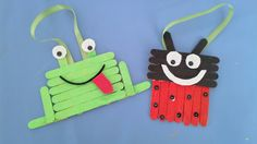 Ladybug and frogg