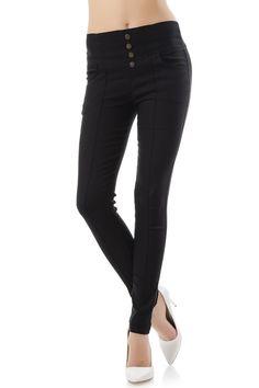 Black Jeans, How To Wear, Pants, Fashion, Trouser Pants, Moda, Fashion Styles, Black Denim Jeans, Women's Pants