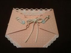 Baby Doll Diaper card-front side
