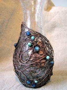 Wire Decorative Vase