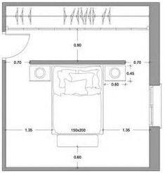 Resultado de imagen de planos de recamaras king size con bano y vestidor