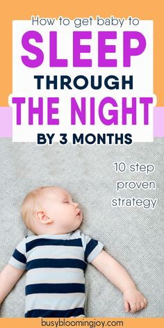 There are a lot of baby sleep tips out there – I swear by these 10 sleep tips to get baby to sleep through the night. Whether you are breastfeeding or formula feeding, they will help your newborn baby Toddler Night Waking, Toddler Sleep, Gentle Sleep Training, Sleep Training Methods, Bedtime Routine Baby, Baby Sleep Schedule, Baby Sleep Through Night, Sleeping Through The Night, Sleeping Patterns For Babies