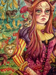 ginger girl and cat tumblr - Pesquisa do Google