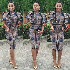 is an African fashion and lifestyle website that showcase trendy styles and designs, beauty, health, hairstyles, asoebi and latest ankara styles. Ankara Dress Styles, Latest Ankara Styles, Latest African Fashion Dresses, African Dresses For Women, African Print Dresses, African Print Fashion, Africa Fashion, African Wear, African Women