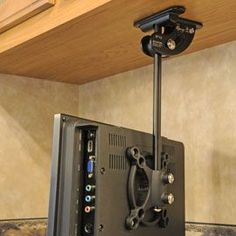 under cabinet or shelf mount for flat screen