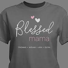 055cf496 t shirts for moms - tshirts for mothers - t-shirt for mom and dad.  Personalized ...