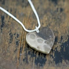 Polished Petoskey Stone Beads & Pendants