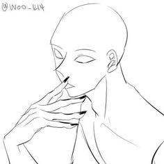 트레이싱 자료모음49 : 네이버 블로그 Drawing Body Poses, Body Reference Drawing, Human Drawing, Drawing Reference Poses, Drawing Base, Figure Drawing, Hand Reference, Female Pose Reference, Drawing Techniques