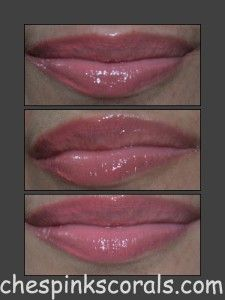 Maybelline Glam Lip Polish 7 Review - Peaches Pinks Corals