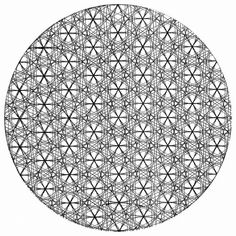 flower of life - genesis pattern - beginning of the creation of the universe we live in - and so forth onto the tree of life is the length and width of the vesica piscis - one theory which is radical to learn about :)