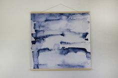 Water colours canvas wallhanging.