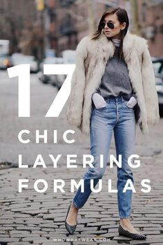 Love to layer? 17 chic layering looks that won't make you look bulky.
