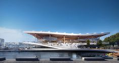 Gallery of Final Approval Granted for 3XN's Sydney Fish Market - 8 Sydney, Public Realm, Home Theater Seating, Great Expectations, Green Park, How To Attract Customers, Water Systems, Beautiful Architecture, Urban Landscape
