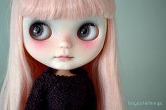 Obake custom no 112 OOAK custom neo blythe doll by tinycutethings
