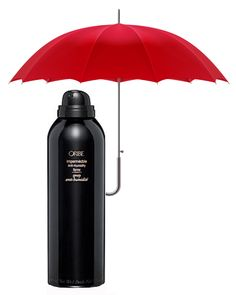 It's a rainy day in Ann Arbor, but have no fear - Oribe Hair Care's Impermeable is here! Fight the frizzies with this amazing anti-humidity spray! (It's even available in purse size for on-the-go humidity protection!)