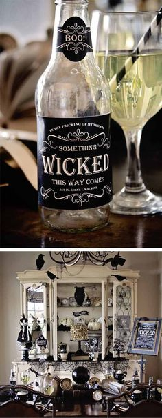 Loralee Lewis Witches Tea Halloween party 8