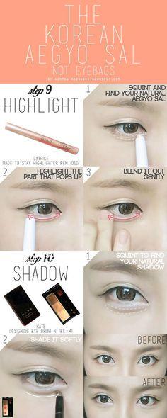 How To : Korean Ulzzang/Uljjang Make Up (Ft. Aegyo Sal) | MADOKEKI makeup reviews, tutorials, and beauty: