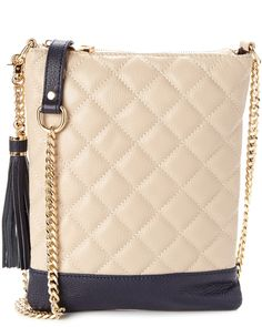 8c655ae1218 Tiffany & Fred Quilted Leather Crossbody is on Rue. Shop it now. Quilted