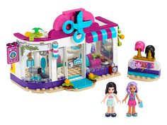 Shop LEGO Friends Heartlake City Hair Salon 41391 at Best Buy. Find low everyday prices and buy online for delivery or in-store pick-up. All Lego Sets, Lego Friends Sets, Friends Series, Lego Store, Legos, Lego Mini, Boutique Lego, Cool Ideas, Apps