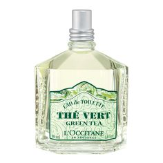 This is what I'm wearing currently. Great for summer, but doesn't last long: L'Occitane The Vert
