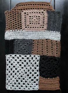 omⒶ KOPPA: Granny jacket - sleeve Kimono Crochet, Crochet Coat, Crochet Jacket, Freeform Crochet, Crochet Cardigan, Love Crochet, Crochet Granny, Beautiful Crochet, Crochet Shawl