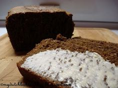 Ontbijtkoek - not quite the traditional way (all rye flour, cook the dough) but easier and just as addictive.