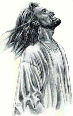 This is how we need to see Jesus. He died for us on the cross, but He is not the… This is how we need to see Jesus. Jesus Laughing, Laughing Jesus Picture, Jesus Smiling, Jesus Drawings, Pictures Of Jesus Christ, Jesus Painting, Jesus Face, Prophetic Art, Biblical Art