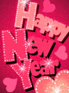 HAVE A PERFECT PINK NEW YEAR WITH A LOT OF MIRACLES AND SPARKLES !!!!