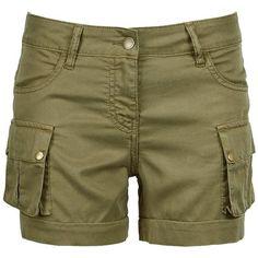 Barbour Crusader Shorts ($37) ❤ liked on Polyvore featuring shorts, pants, short, khaki, zipper shorts, lightweight shorts, loose shorts, summer shorts and khaki shorts