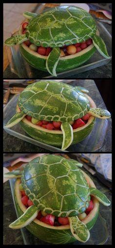 Oo la pastèque en forme de tortue! – L'Humanosphère