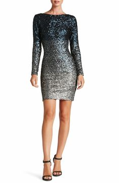 $232 @ Nordstrom. This  Ombré Sequin Body-Con Dress comes in 4  other great colors. Lola Dress  by Dress the Population