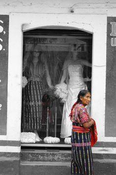 Blending traditions. Solola Guatemala. Photo by Paula Bendfeldt (me). :)