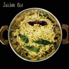 Zucchini Curry, Zucchini Recipes Indian, Indian Food Recipes, Ethnic Recipes, Rice Recipes, Vegetarian Recipes, Cooking Recipes, South Indian Food, Vegetarische Rezepte
