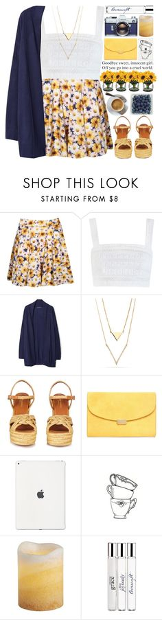 """Goodbye Sweet, Innocent Girl."" by heartart ❤ liked on Polyvore featuring Boohoo, Zimmermann, MANGO, Yves Saint Laurent, Pier 1 Imports and philosophy"