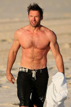 When watching television, a beautiful and famous Hugh Jackman Biography appears. Here is the Hugh Jackman Biography listed below. Les Miserables, Fitness Workouts, Hottest Male Celebrities, Celebs, Hugh Jackman Shirtless, Hot Men, Hot Guys, Sexy Guys, Hugh Wolverine