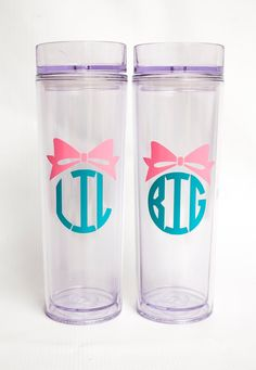 Personalized Big Sis/ Little Sis/ Lil Sis/ by TableFor5Designs