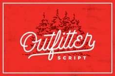 Check out Outfitter Script by Decade Type Foundry on Creative Market